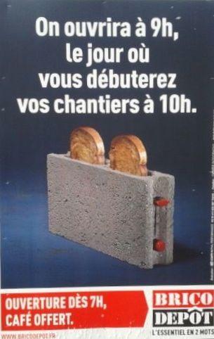 Un exemple réussi d'affiche publicitaire parlant le même langage que ses cibles de communication